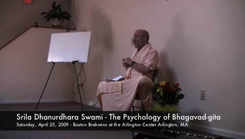 Psychology of Bhagavad-gita